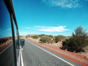 Auf dem Weg zu Uluru und Kata Tjuta